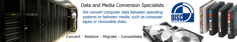 Convert, Restore, Migrate or Consolidate your computer data and media.